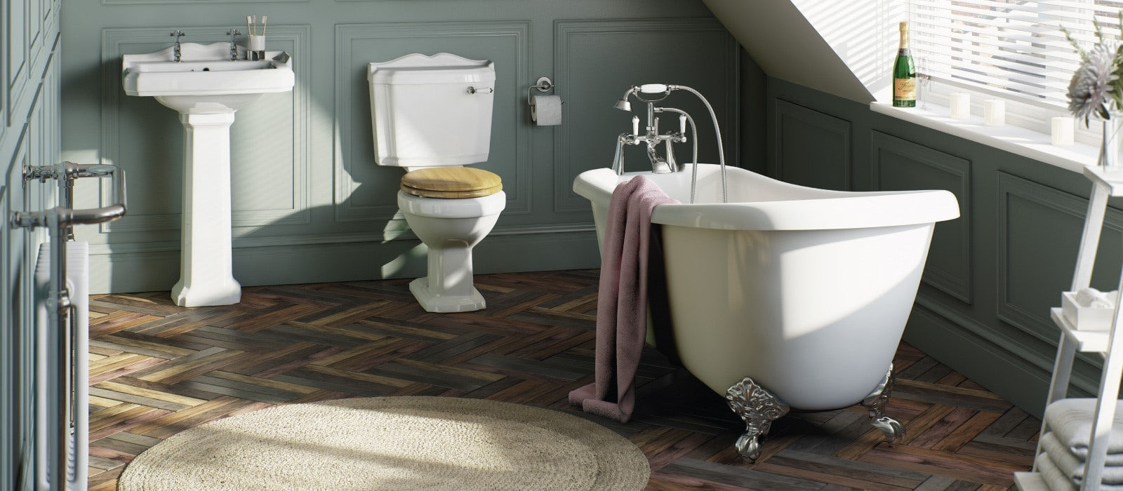 Traditional bathroom inspiration gallery