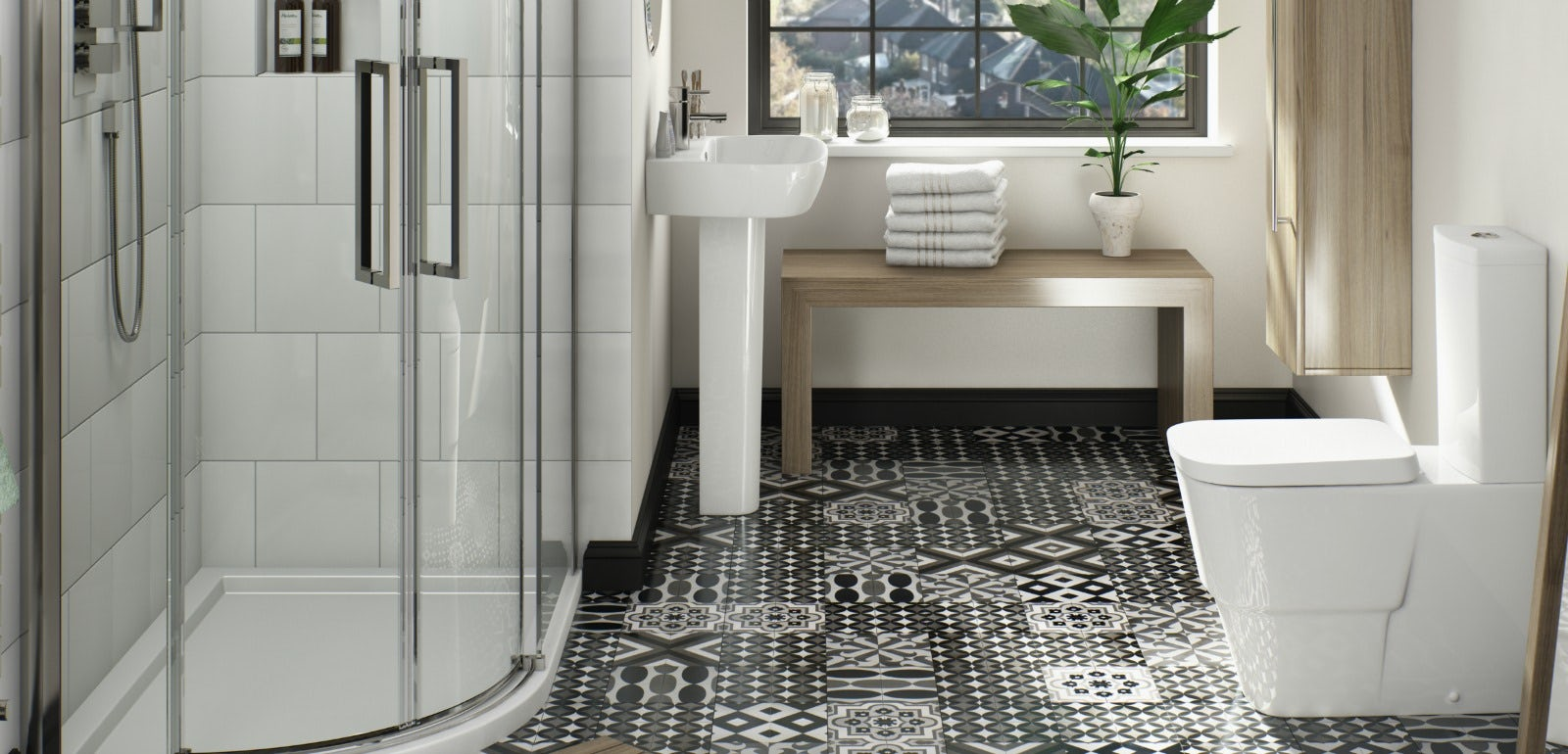 Get the most out of your ensuite Ensuite tile ideas pictures