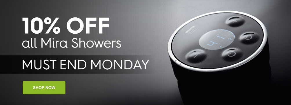 10% Off All Mira Showers