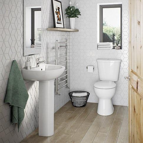 Simple Bathroom Suite Range