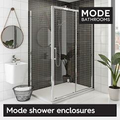 Our Mode shower enclosures