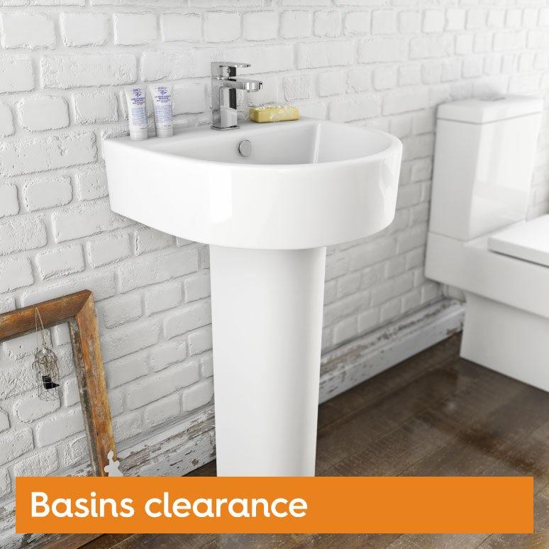 Clearance basins