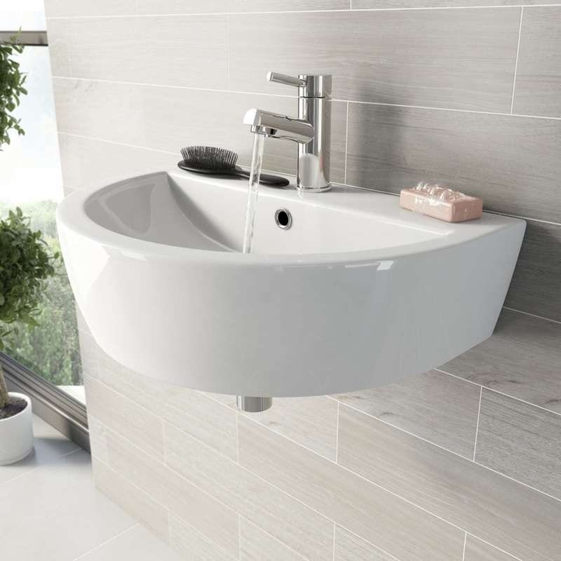 Mode Tate wall hung basin 550mm