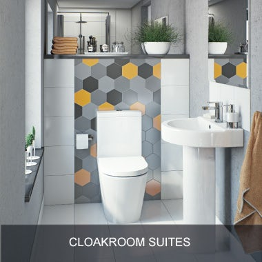 Cloakroom suites Small baths