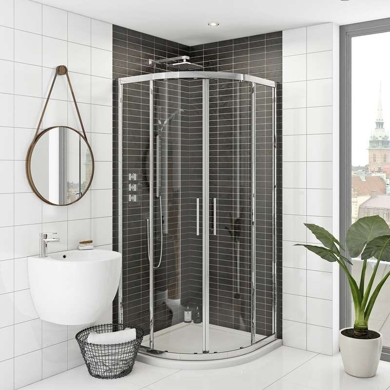 Mode Rand premium 8mm easy clean quadrant shower enclosure