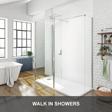 Walk in shower enclosure & wet room ideas | VictoriaPlum.com