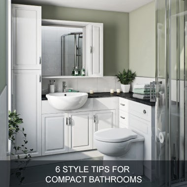 6 style tips for compact bathrooms