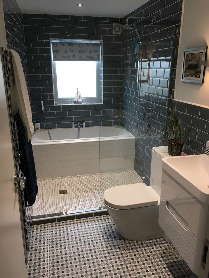 4 great wet room ideas for Small ensuite wet room ideas