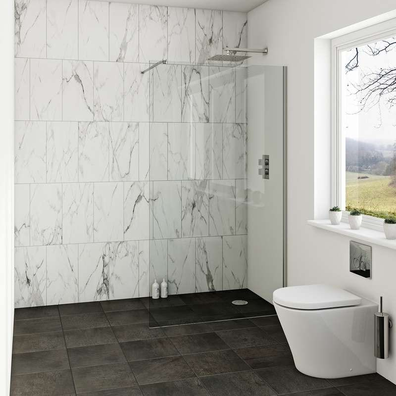 Luxury 8mm wet room glass panels offer pack