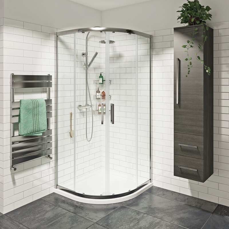Mode Tate 8mm easy clean sliding door quadrant shower enclosure