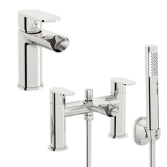 Mode Keswick basin and bath shower mixer pack
