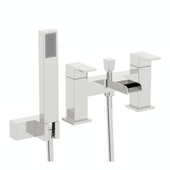 Flume bath shower mixer tap