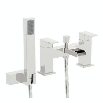 Flume bath shower mixer tap