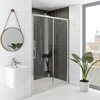 Mode Rand premium 8mm easy clean sliding shower door