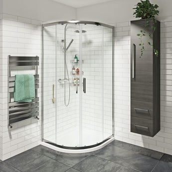 Mode premium 8mm easy clean quadrant shower enclosure