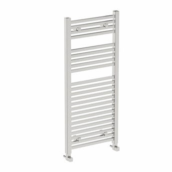 Square heated towel rail 1200 x 490 offer pack