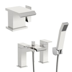 Mode Aurora basin and bath shower mixer pack