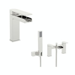 Mode Freemont basin and bath shower mixer tap pack