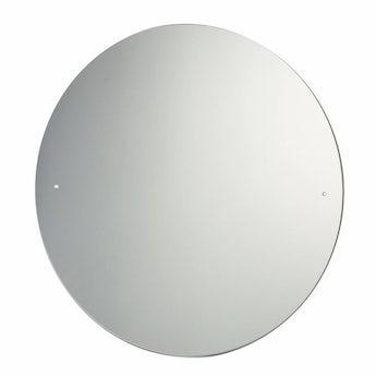 Circular bevelled edge drilled mirror diameter 40cm