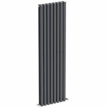 Lava double vertical radiator 1600 x 480